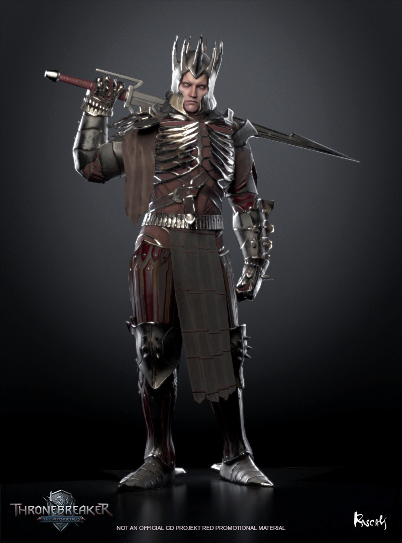 Eredin Bréacc Glas was an Aen Elle elf and commander of an elven cavalry known as the Wild Hunt. As its leader, he was known to most as the King of the Wild Hunt. Eredin was a high ranking general in his world until he killed the king and took his throne.