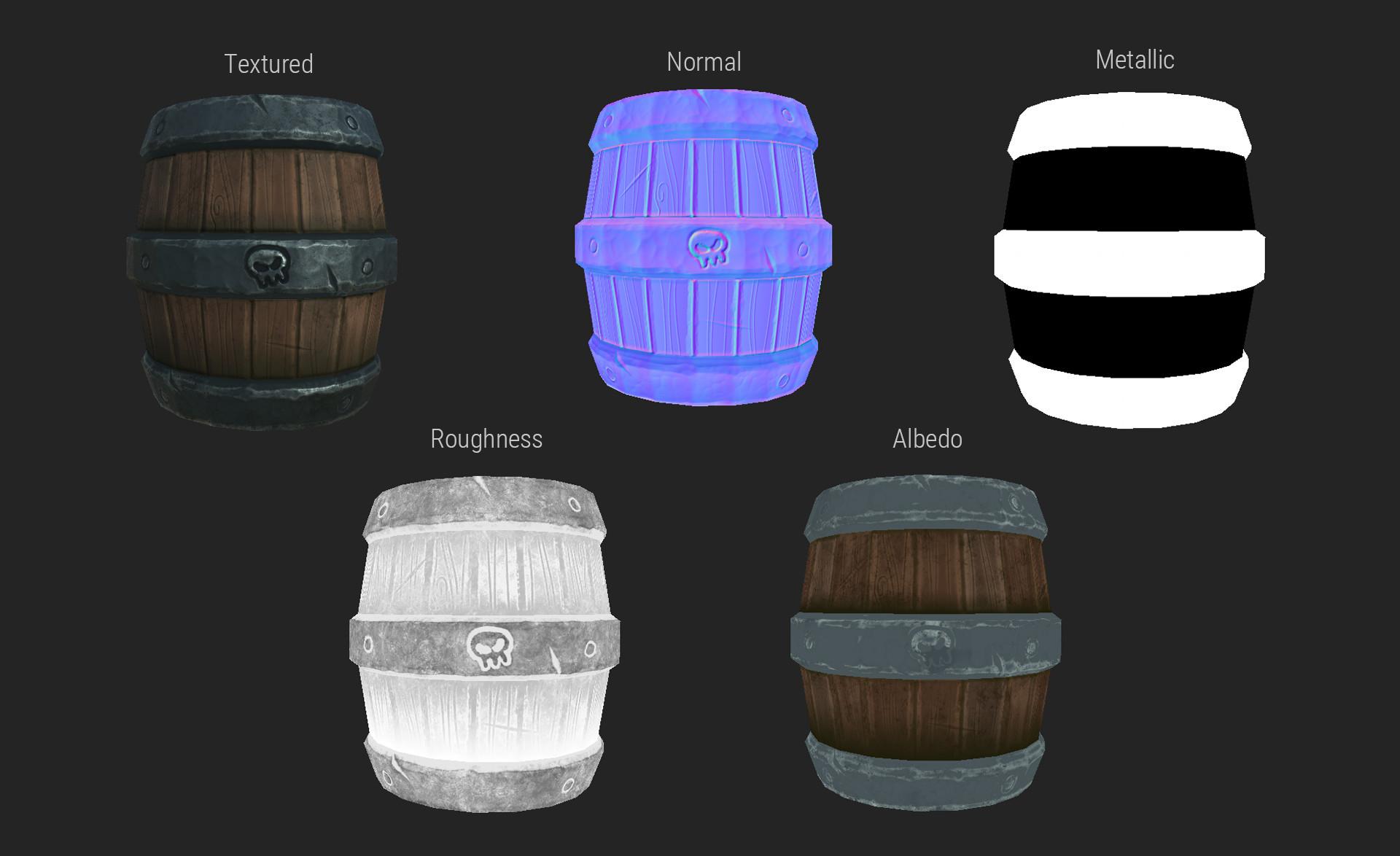 Markus pichler barrel textures