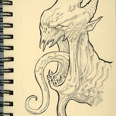 Anthony rivero creamsketchbook monstercurlytongue