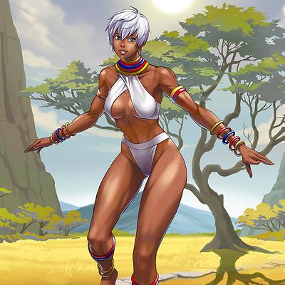 Gunship revolution charactercard elena color2