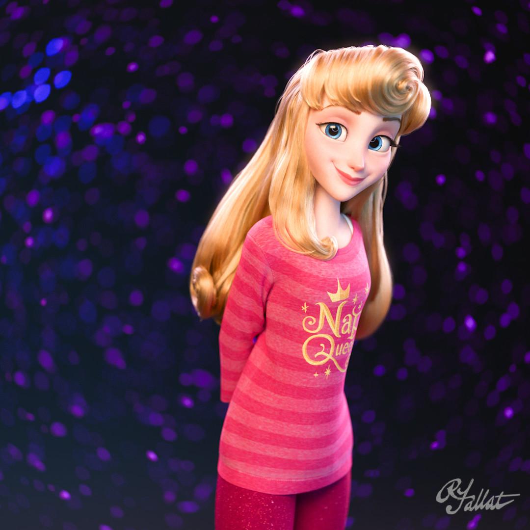 """Les Princesses Disney """"Version Ralph 2.0"""" : Vos préférées ? Rich-fallat-instasquare-auroraanim-00-00-04-14-still001"""