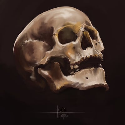 Arnesson art thomas hugo skull