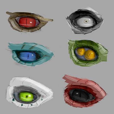 Josef barton eye doodle