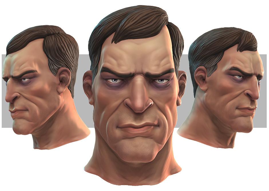 Ian thompson sculpt malehex