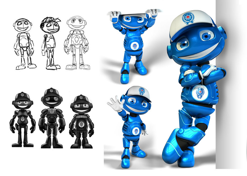 Ian thompson police robot large 01