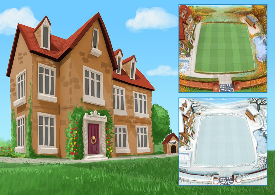 Ian thompson grouch house