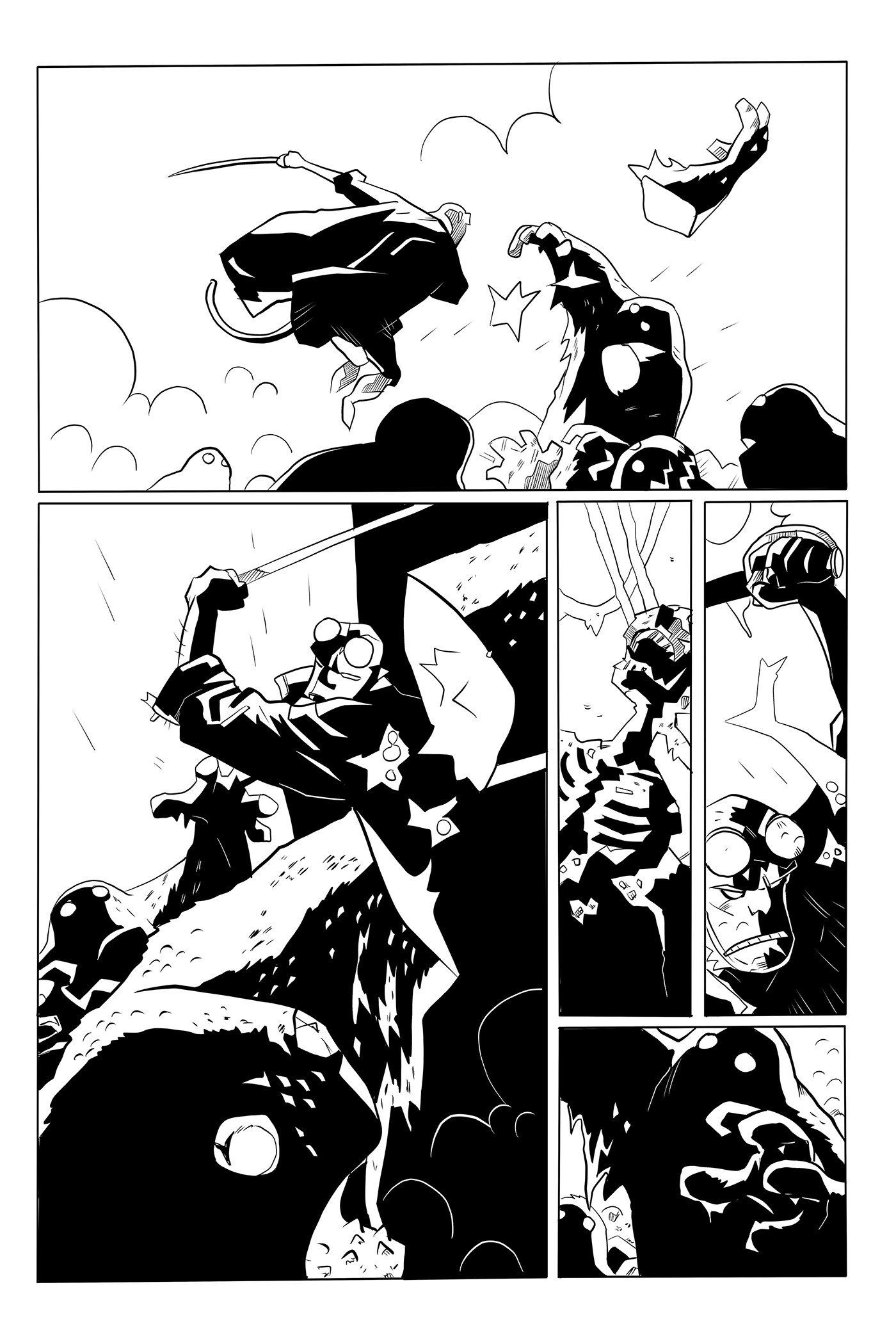 Hellboy Sample Page 04