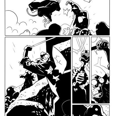Hellboy Sample Page 04