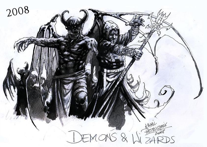 Kamil pietruczynik demonswizards work in progress 2