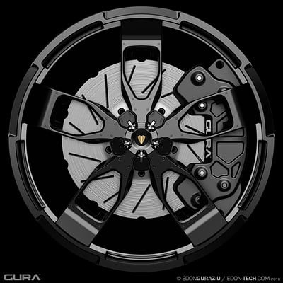 Edon guraziu gura black wheel 001