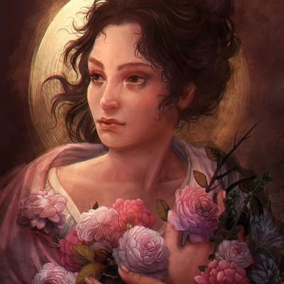 Lourdes saraiva portrait female