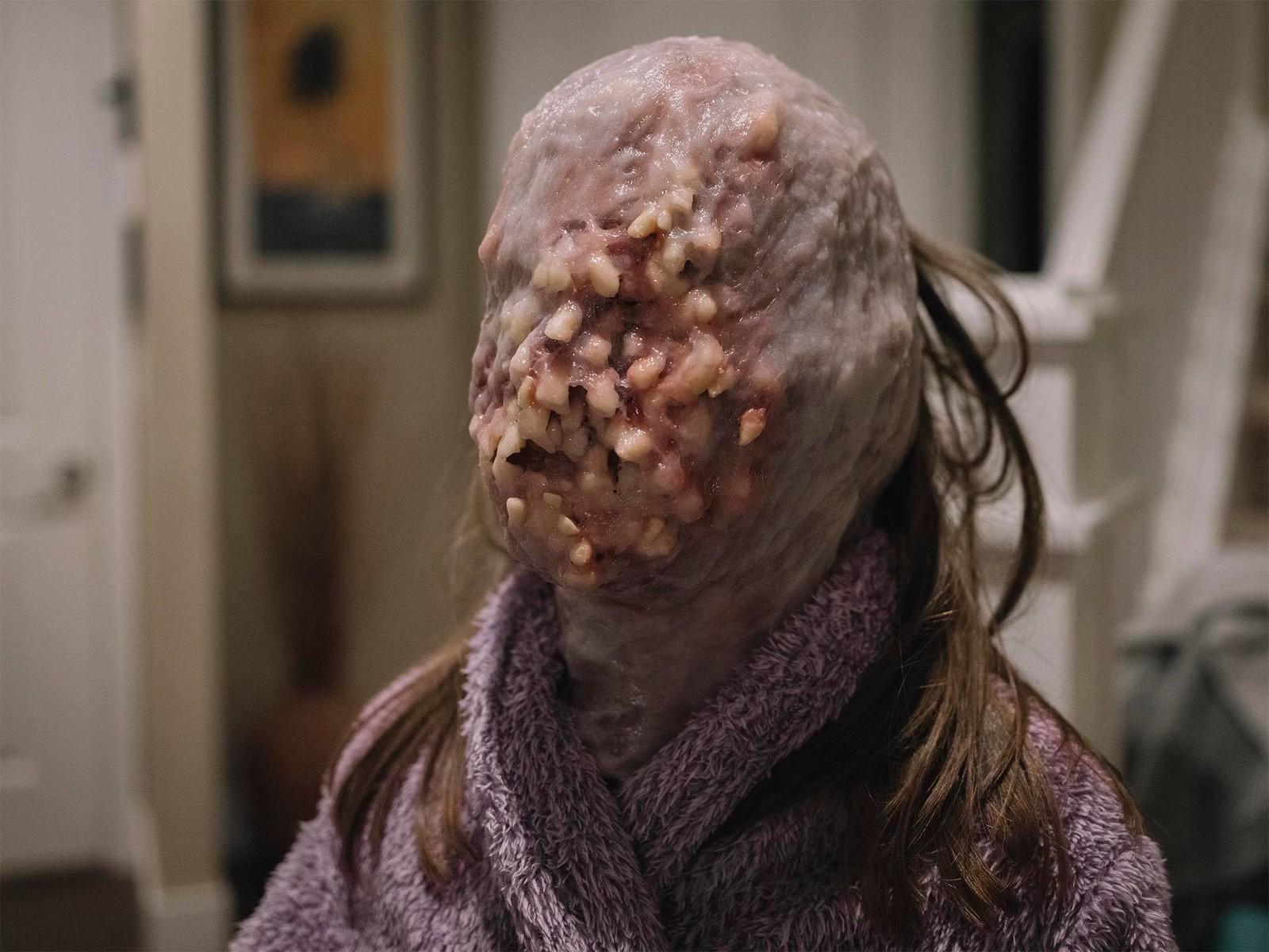 48 hr Film challenge horror mask.