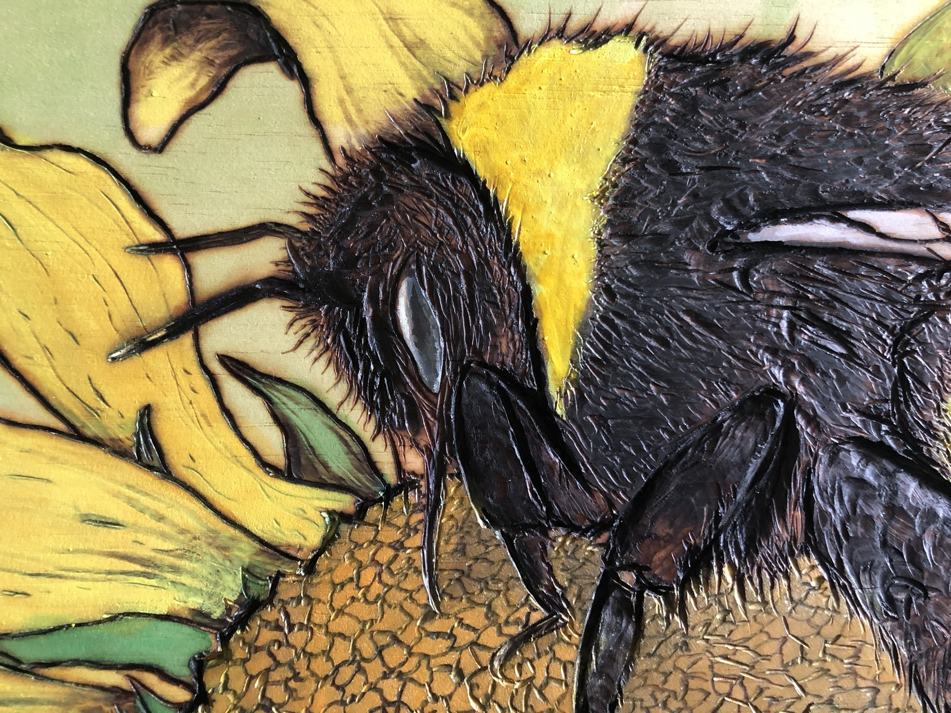 Skylar mcclellan bee burning2