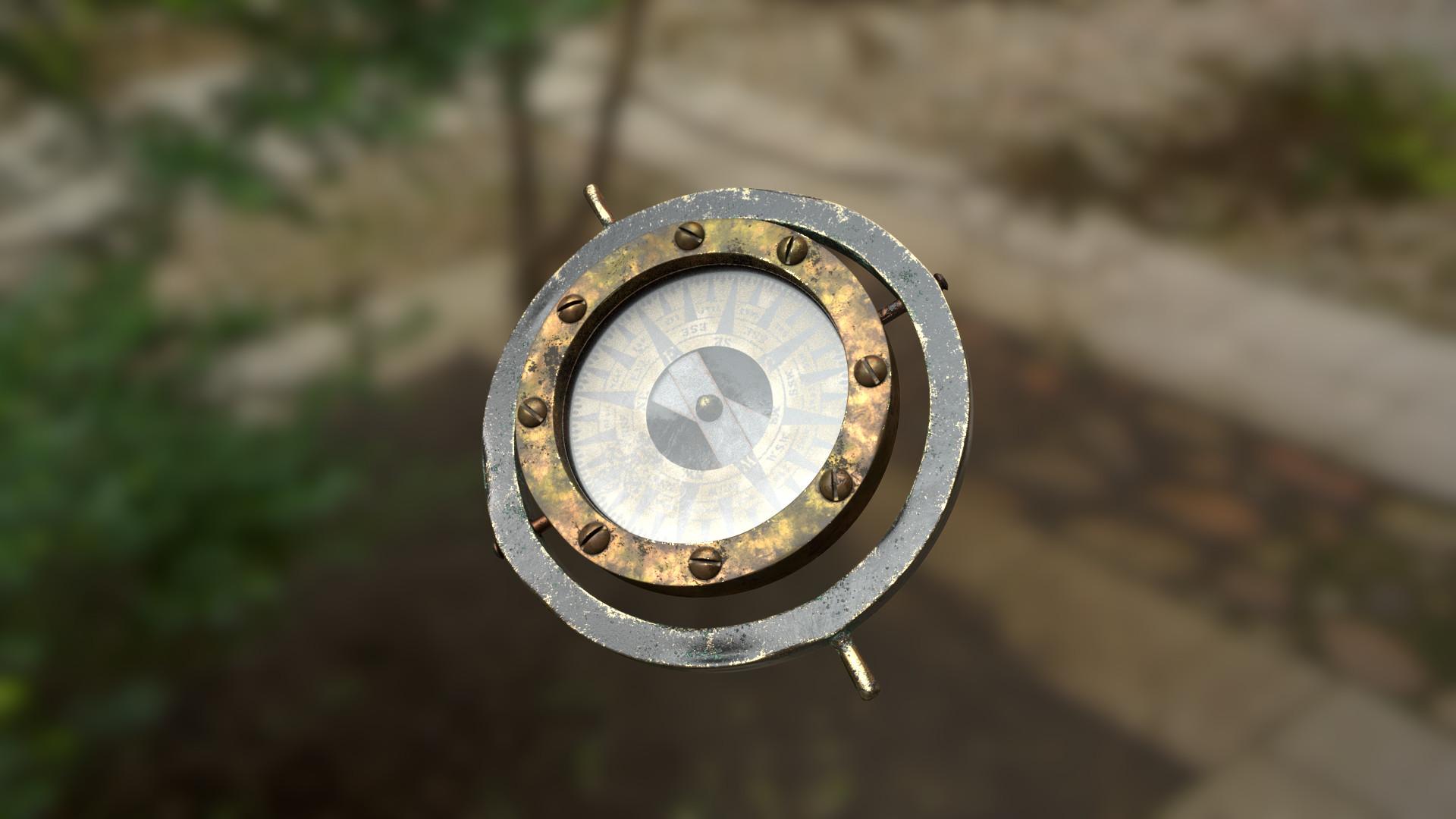 Brock flint compass 01