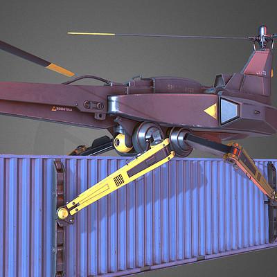 Jonas prunskus cargo drone 02