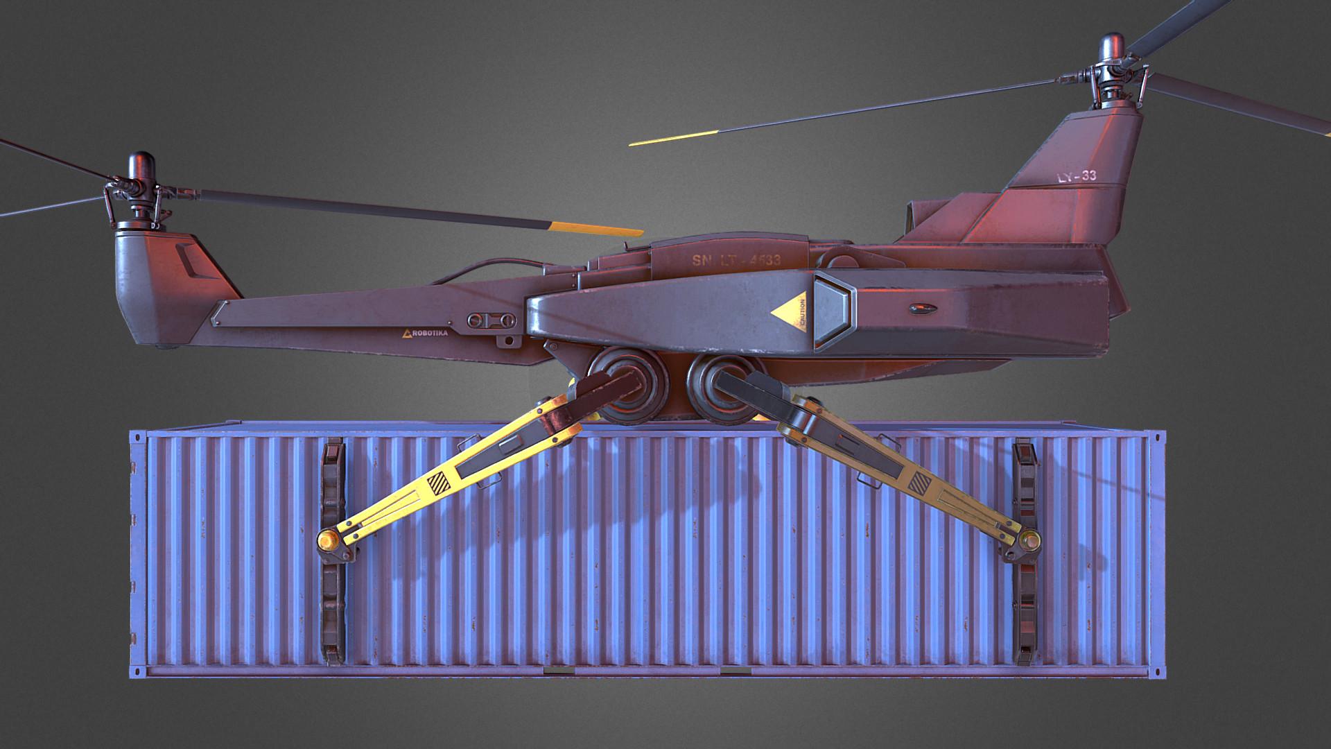 Jonas prunskus cargo drone 03