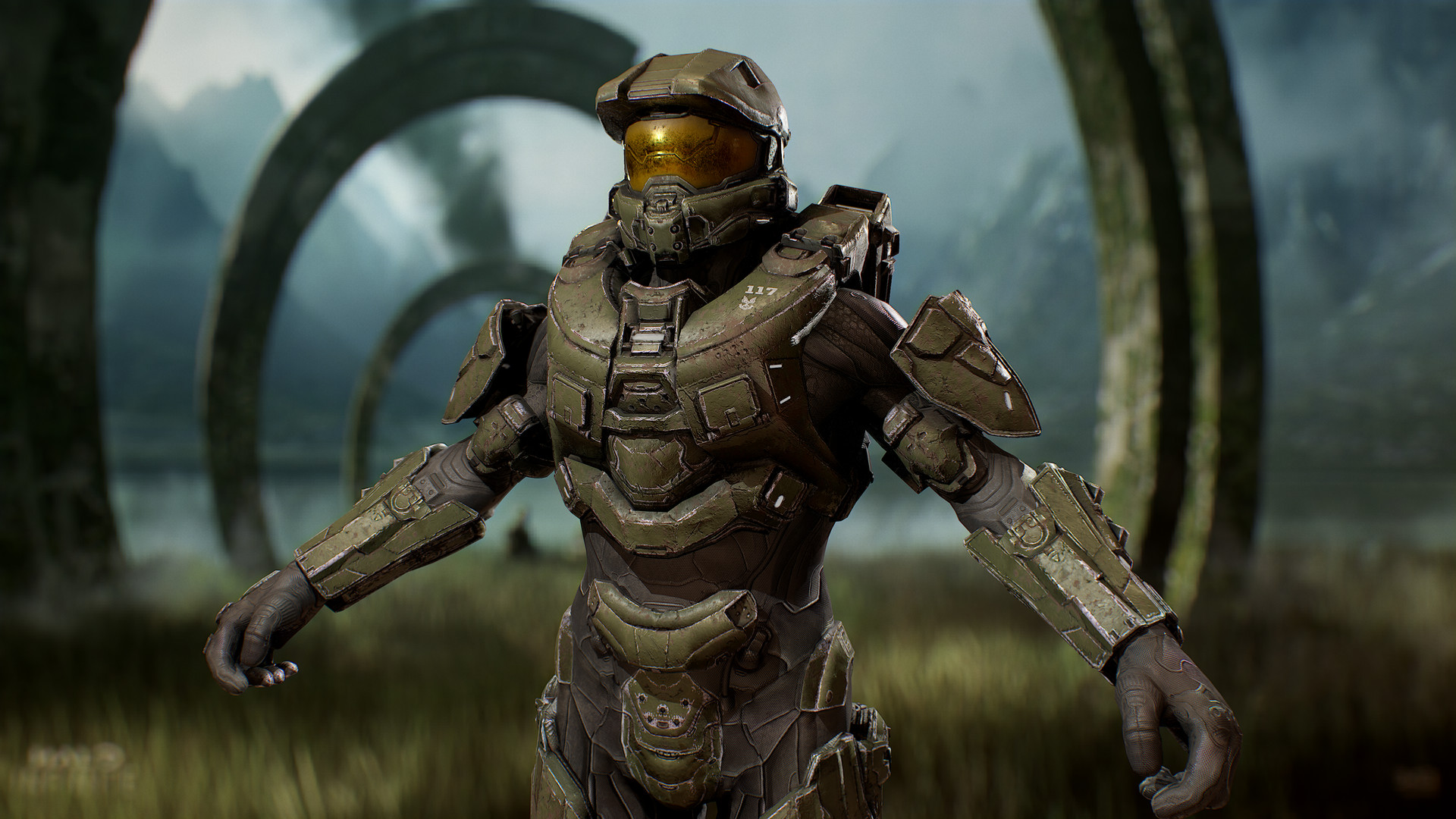 Artstation Halo 5 Mjolnir Armor Battle Dirty Dorian Pillari