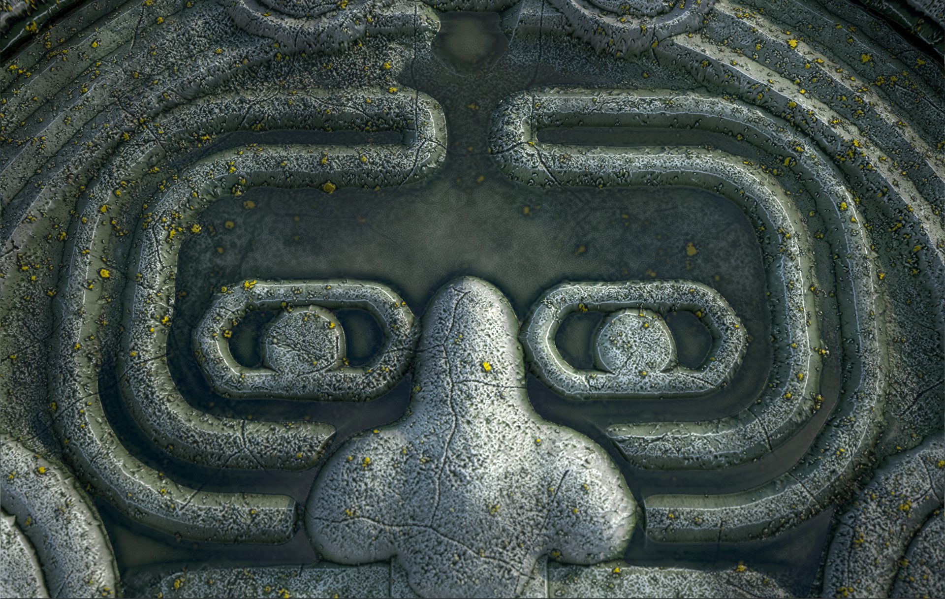 Marcelo souza aztec mask pond4