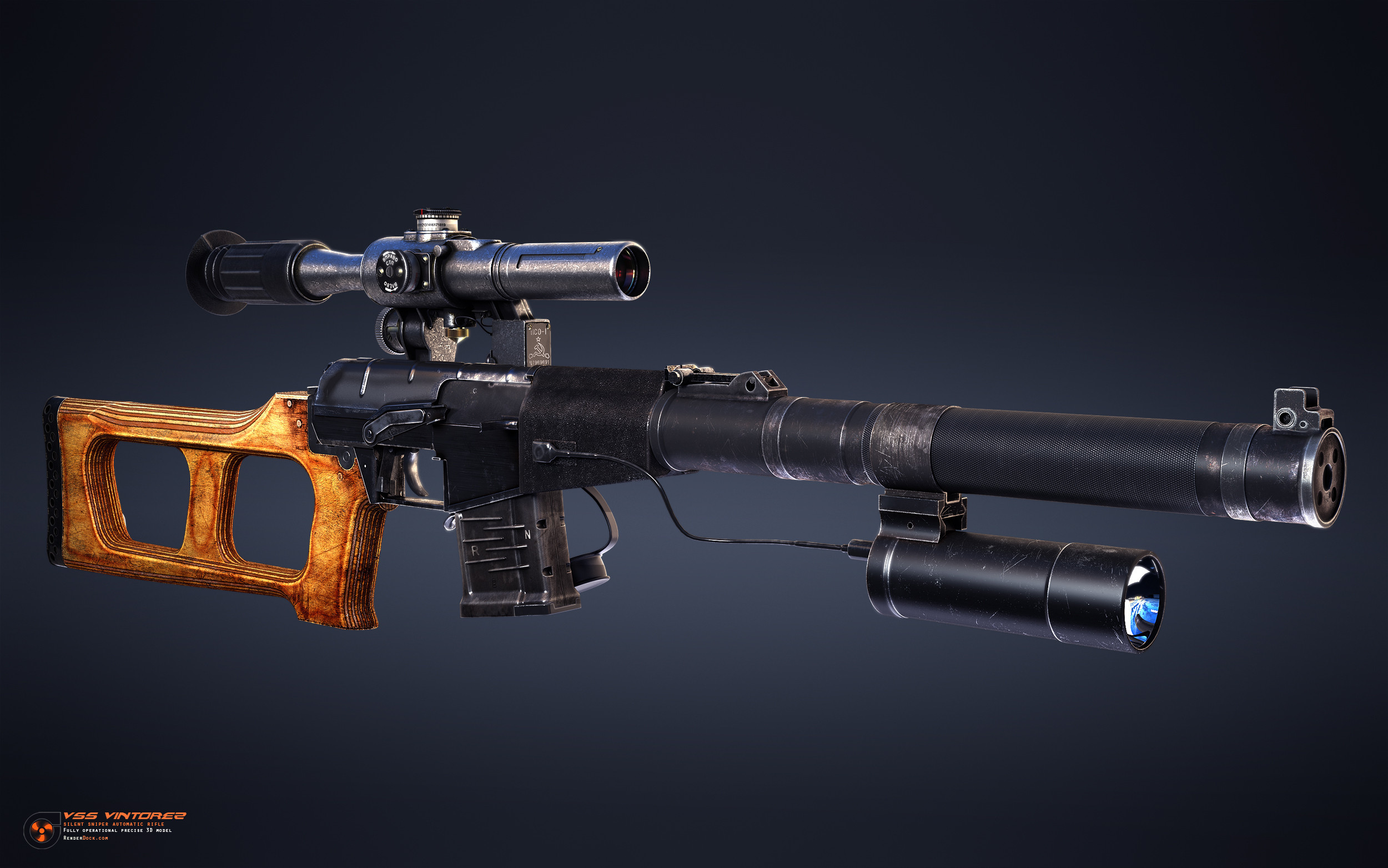 It has 10 or 20 round magazine with ability of both single and automatic fire