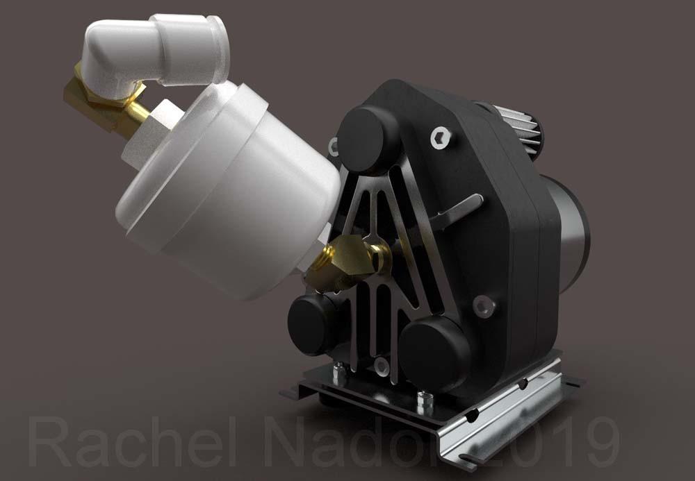 Scroll Compressor (Air Compression Device)