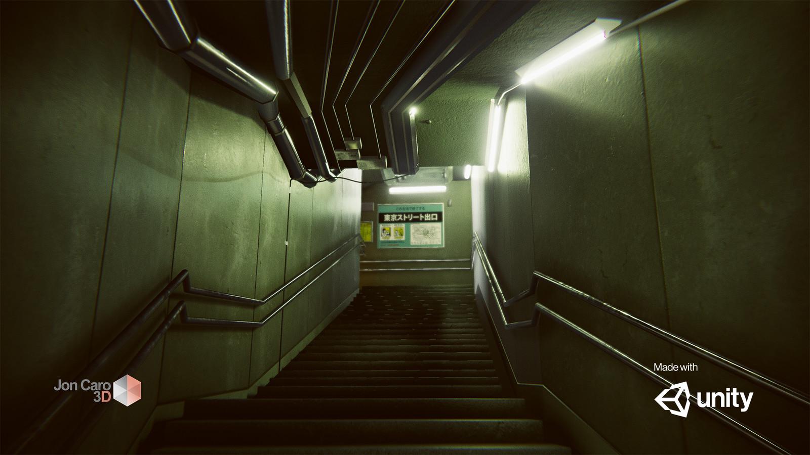 Subway Exit Lighting Study