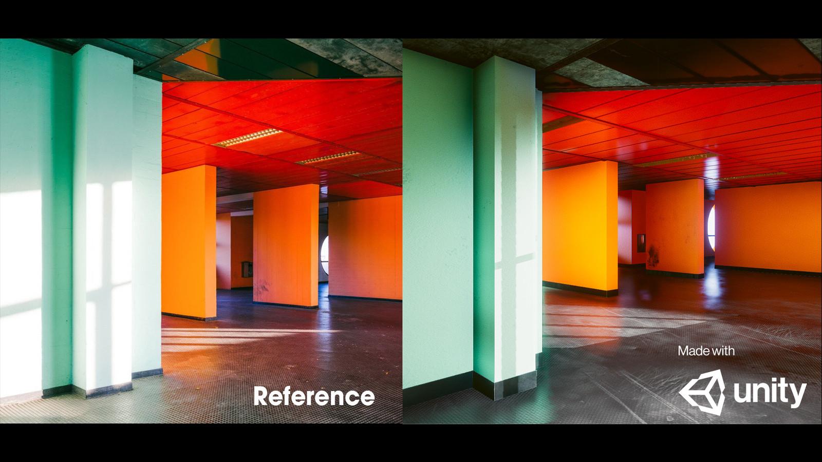 Lighting Study reference match