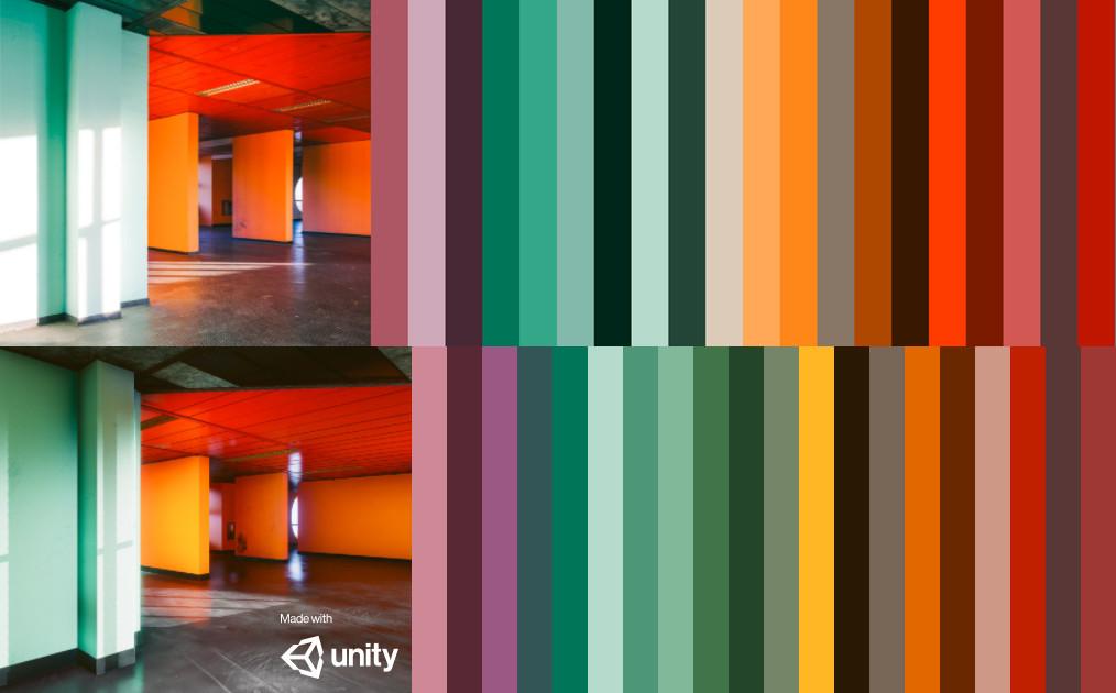 Lighting Study Color match