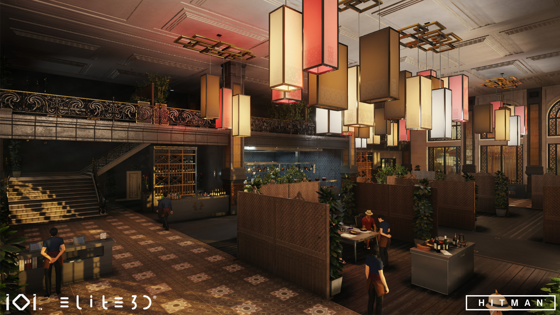 Artstation Hitman 2016 Bangkok Elite3d Studio