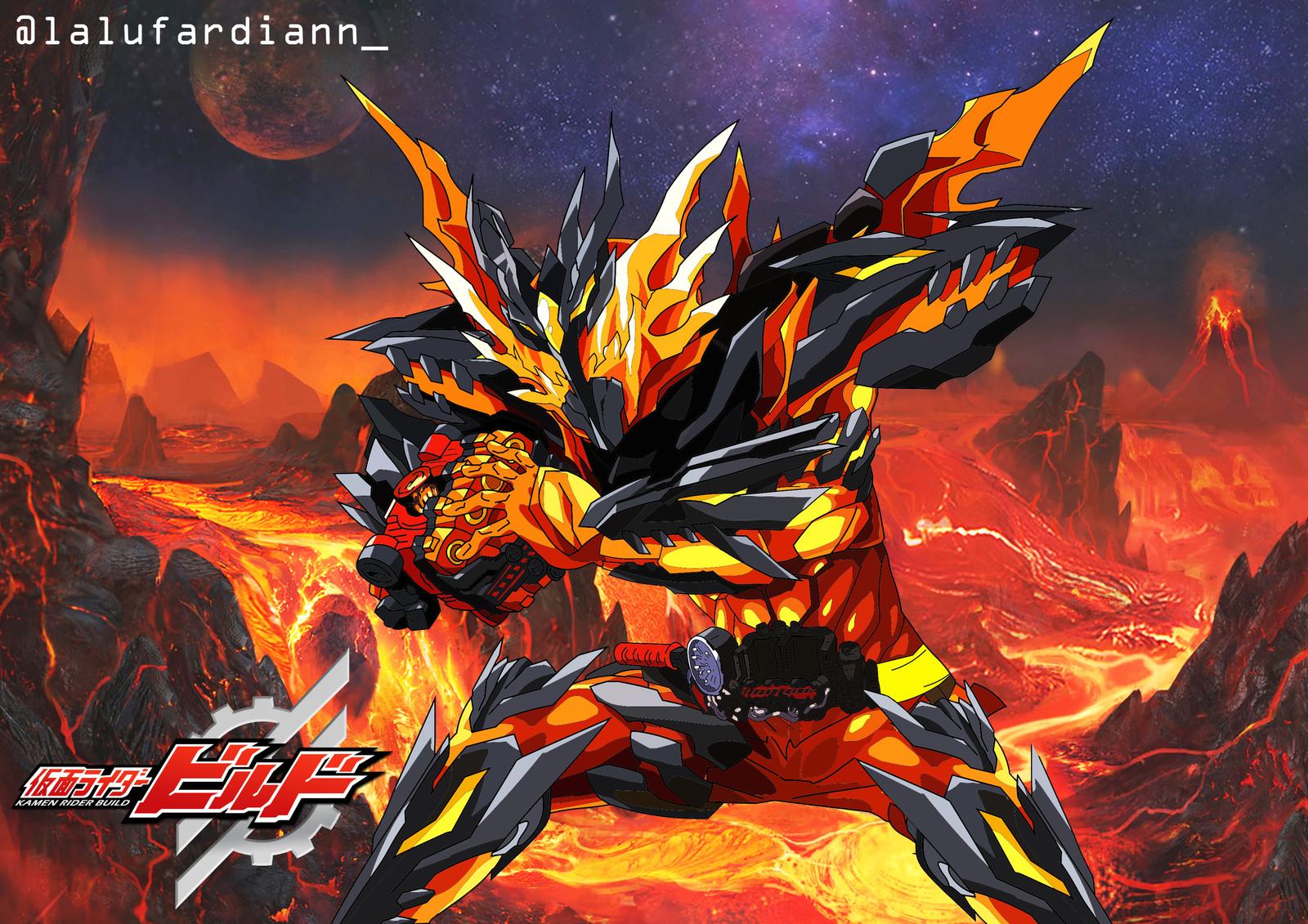 Artstation Kamen Rider Cross Z Magma Lalu Fardian