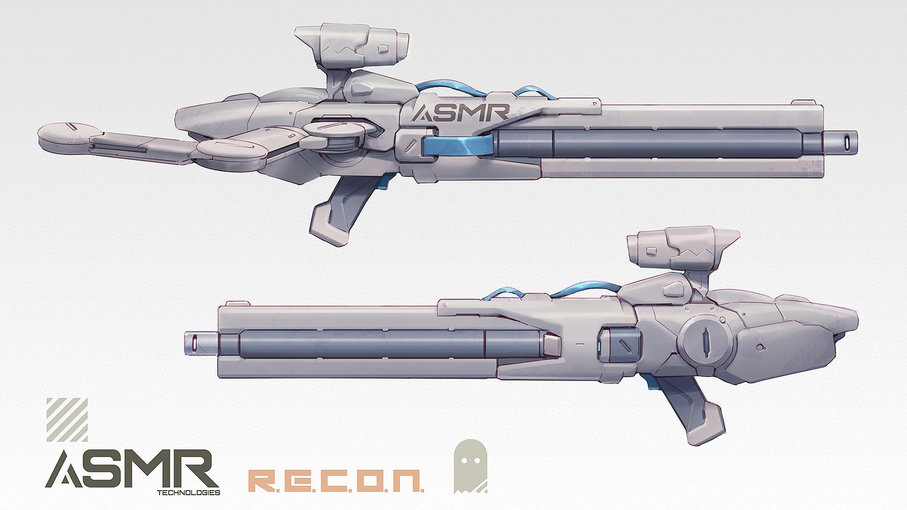 Robert kim recon rifle