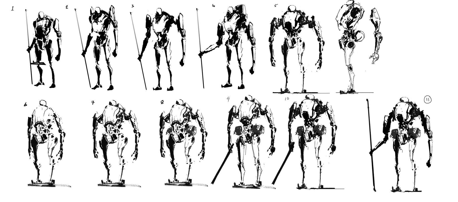 Kobe sek robot sketches
