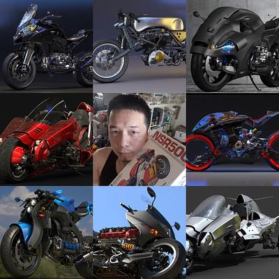 Ying te lien my fantasy motorcycle