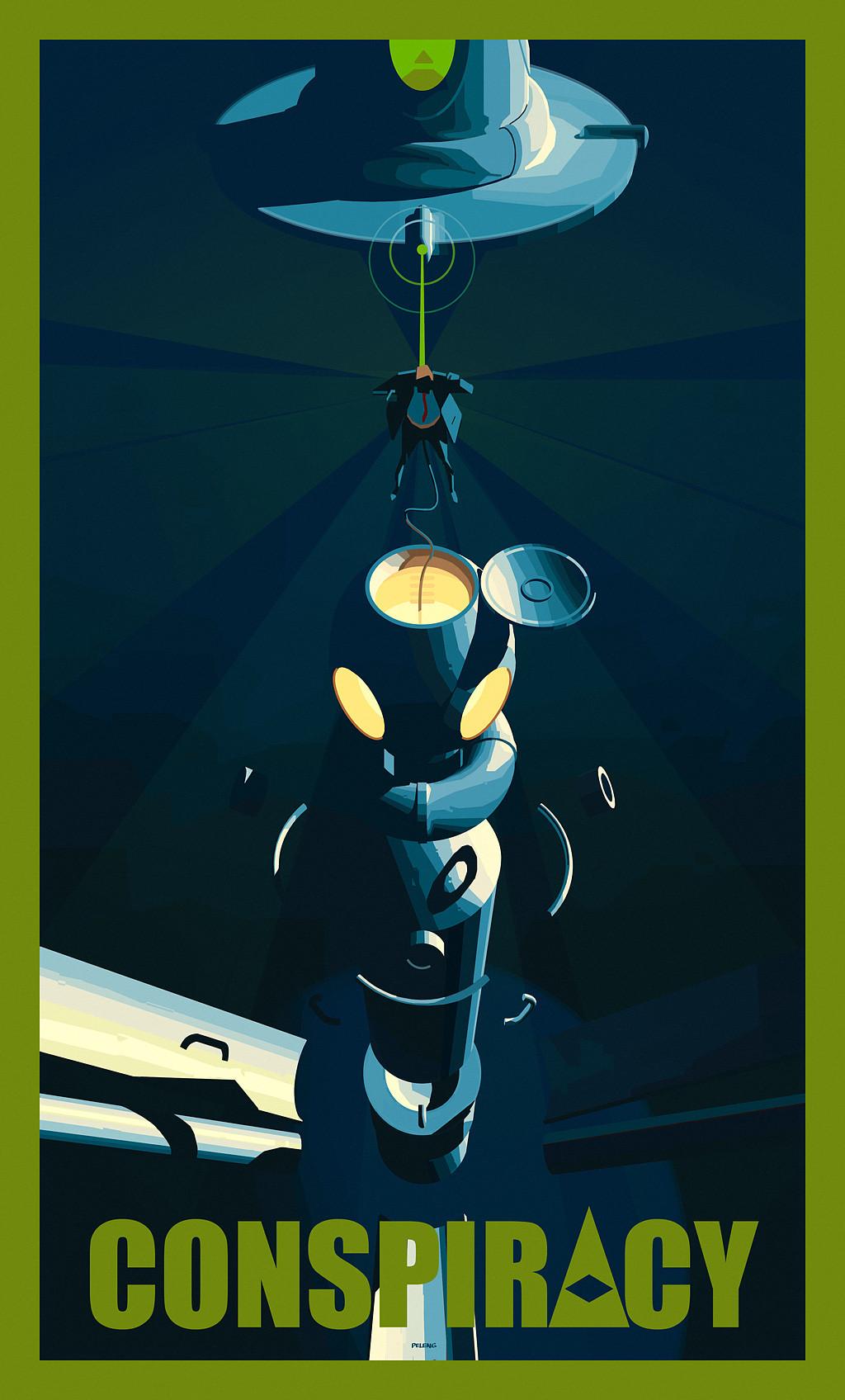 Sergey kolesov conspiracy poster