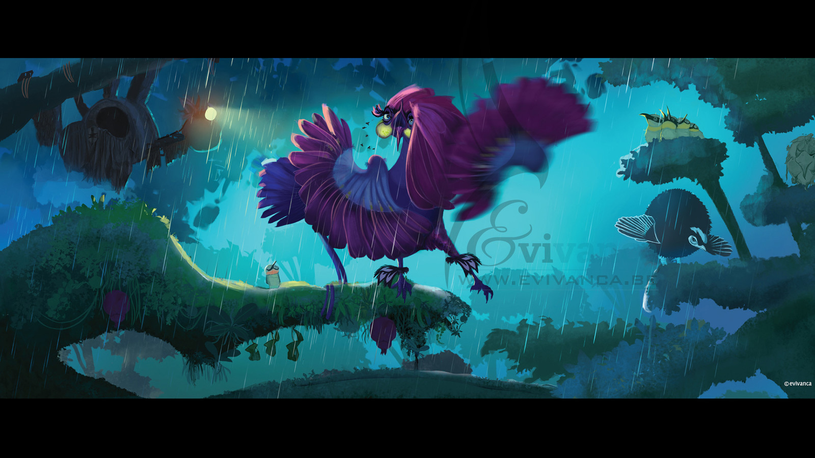 The broadway bird!
