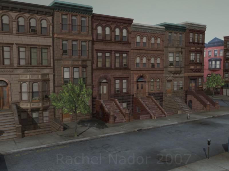 Rachel nador brownstones1