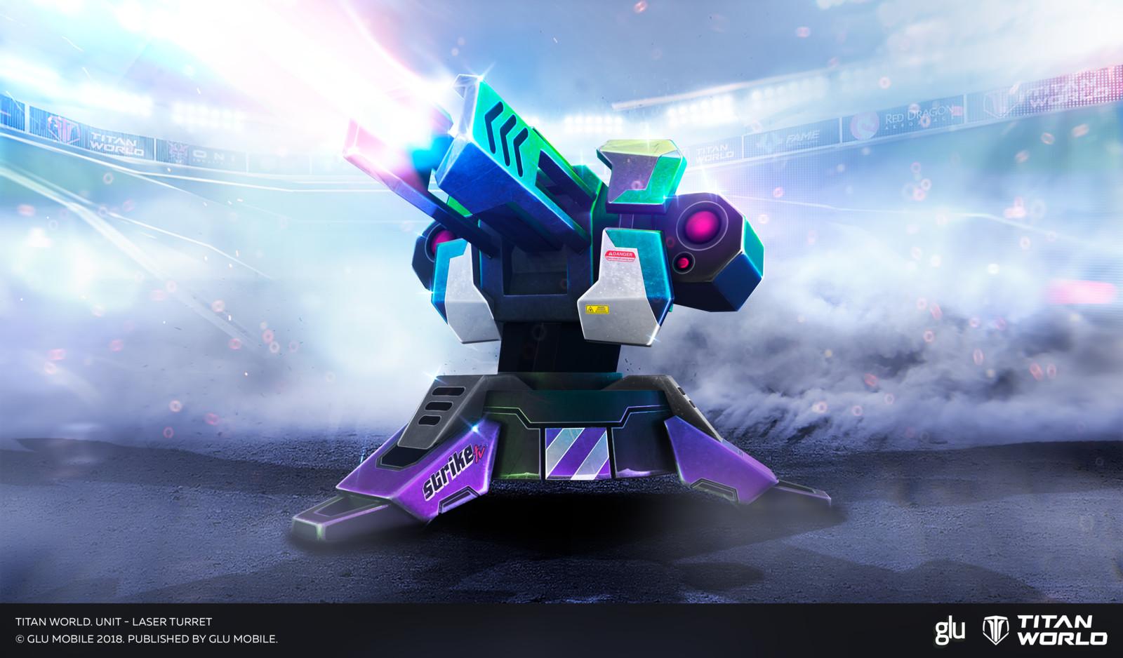 Unit - Laser Turret