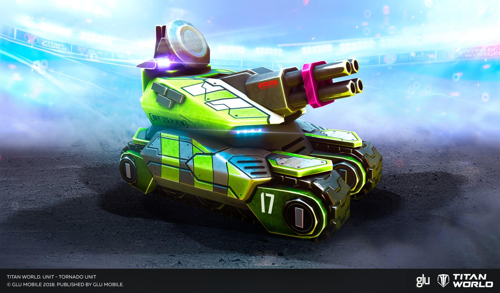 Unit - Tornado
