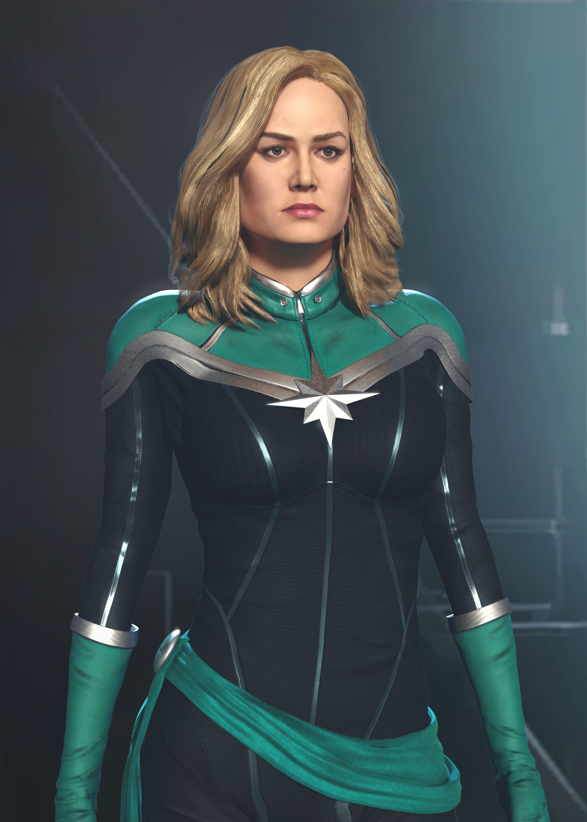 Artstation Captain Marvel In Kree Suit Siddesh Tamse About 3% of these are tv & movie costumes, 0% are women's trousers & pants, and 0% are zentai / catsuit. captain marvel in kree suit siddesh tamse