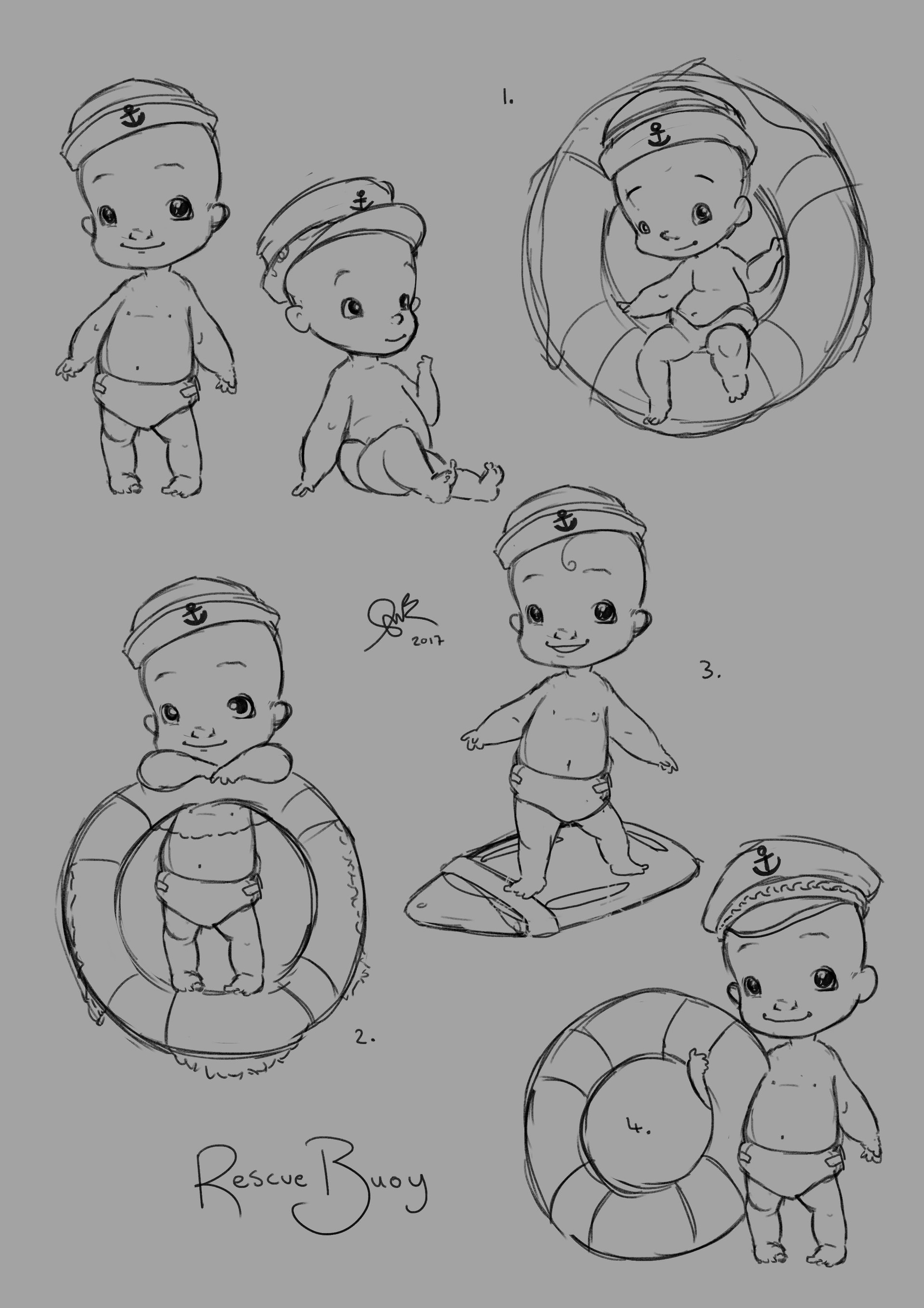 Shellz art rescue buoy concepts