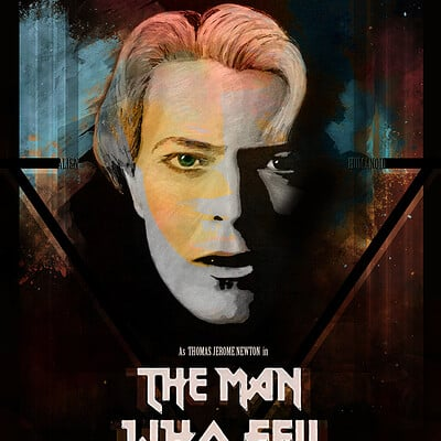 Alex tsoucas the man who fell to earth poster variant onecom
