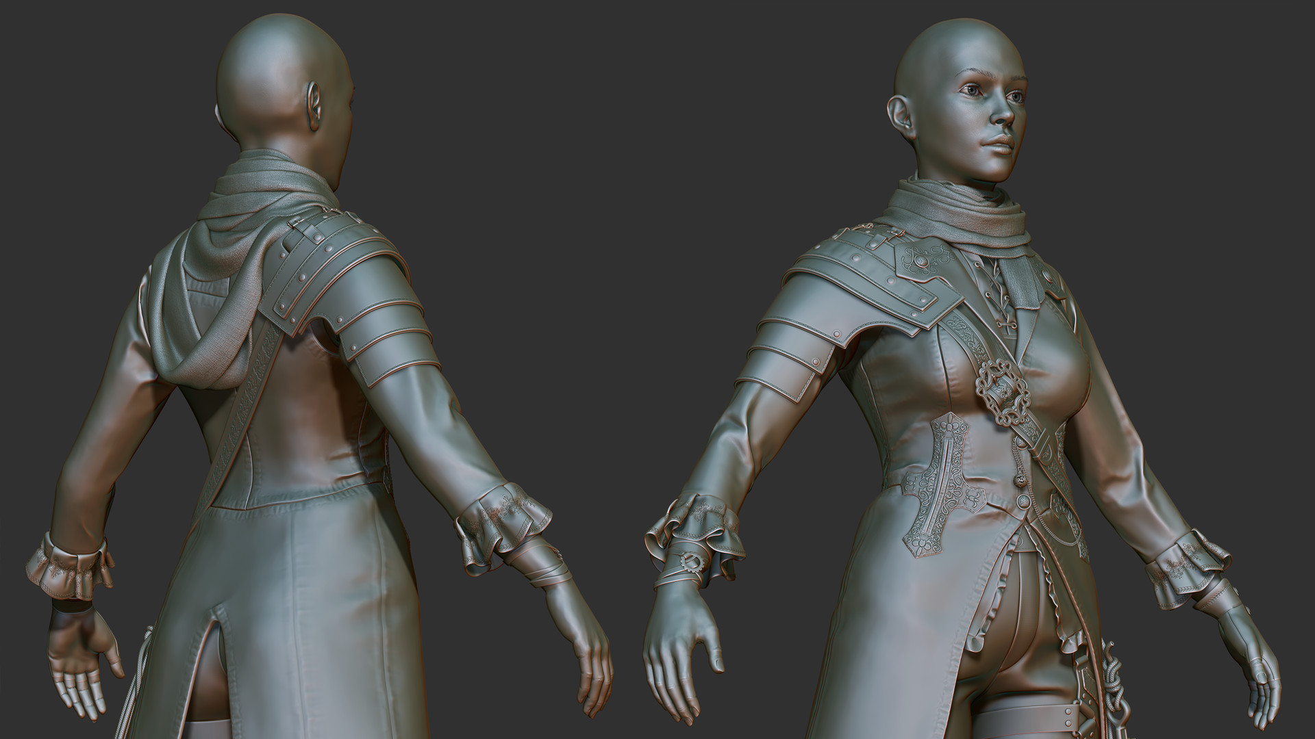 Paul foster high poly 01a