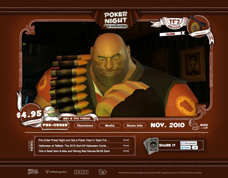 Poker Night 2 Items Tf2