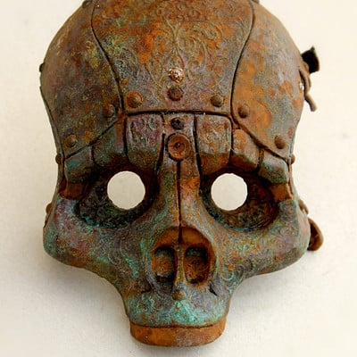 Tomas barcelo skull mask 3