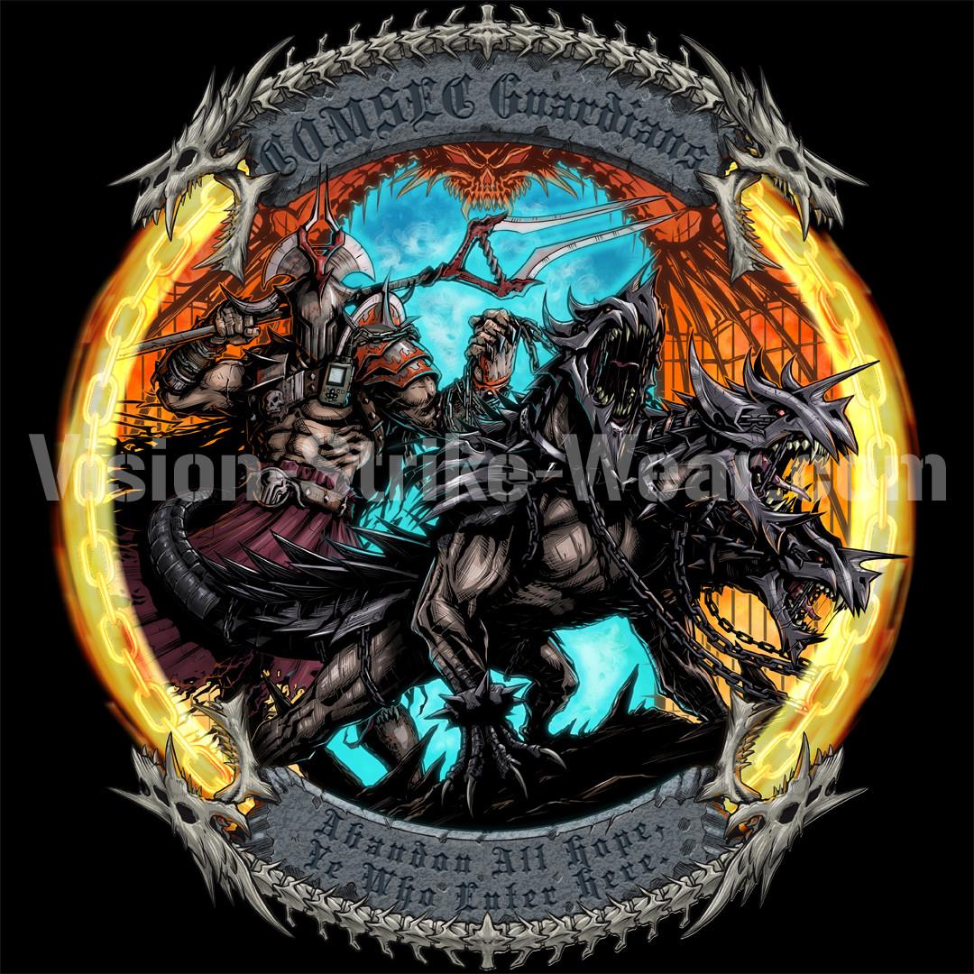 COMSEC Guardians - Underworld t-shirt design