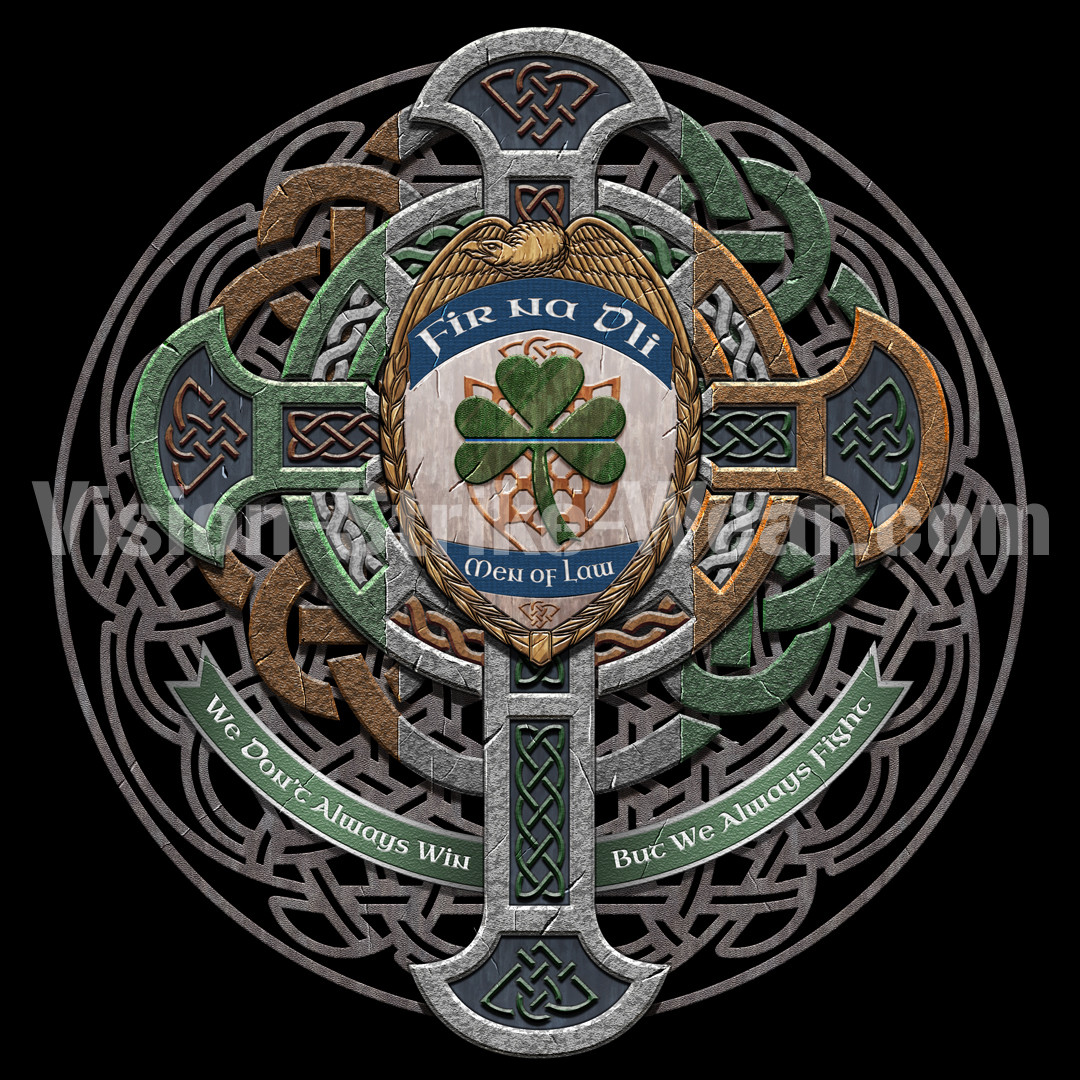 Men of Law - Irish police officers shirt/coin design