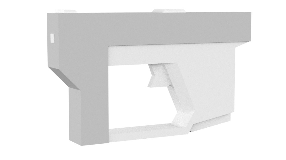 Sketch model for paintover.