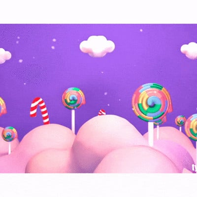 Tzuyu kao artstation tykcartoon purple lollipop candy world animation