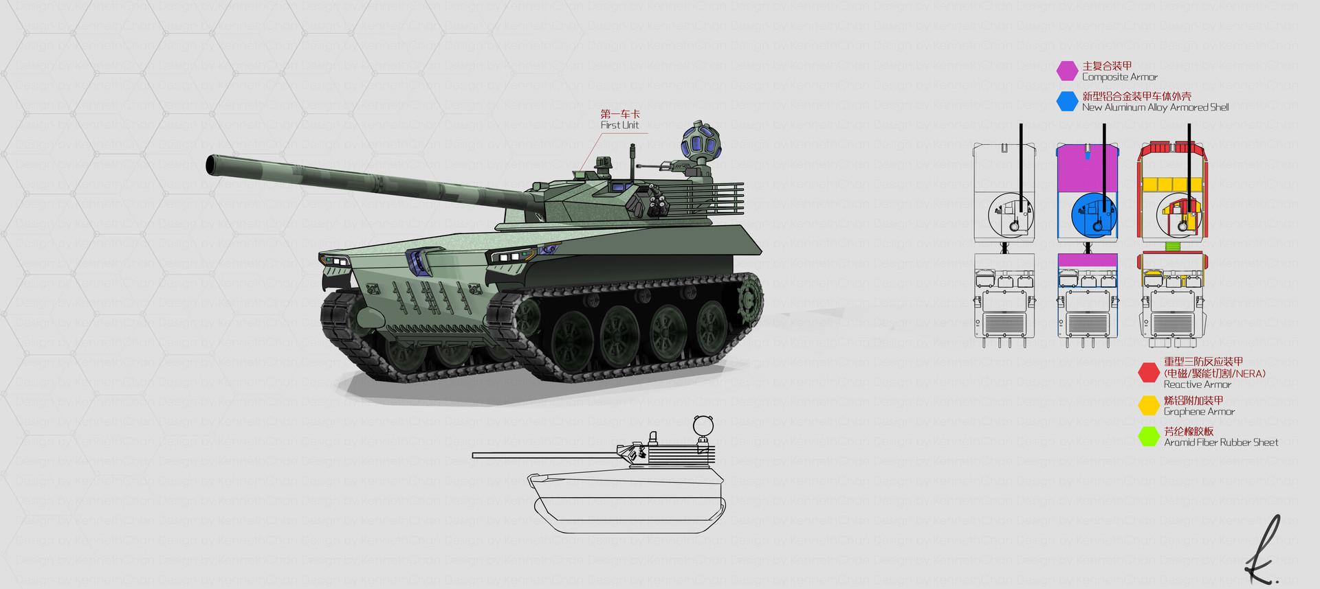 Articulated 4 Gen Main Battle Tank