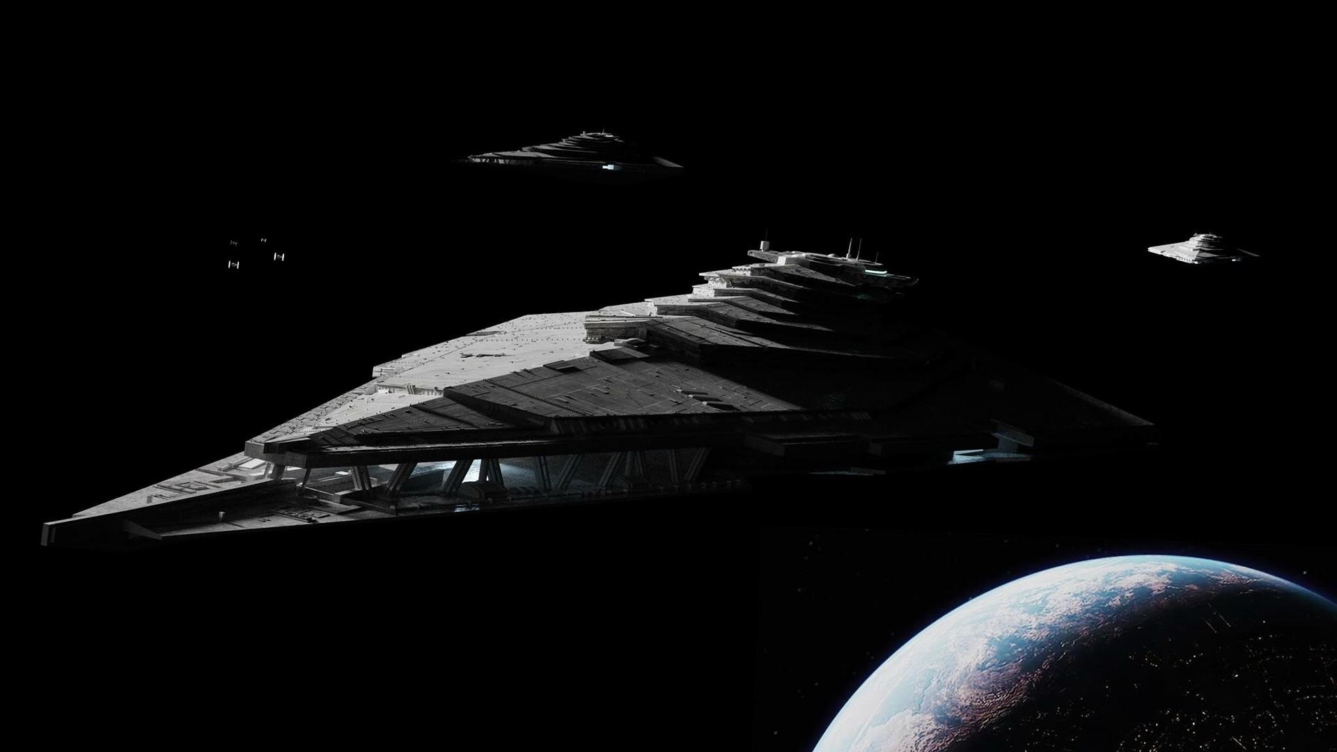 Artstation First Order Star Destroyer Eden Ferguson