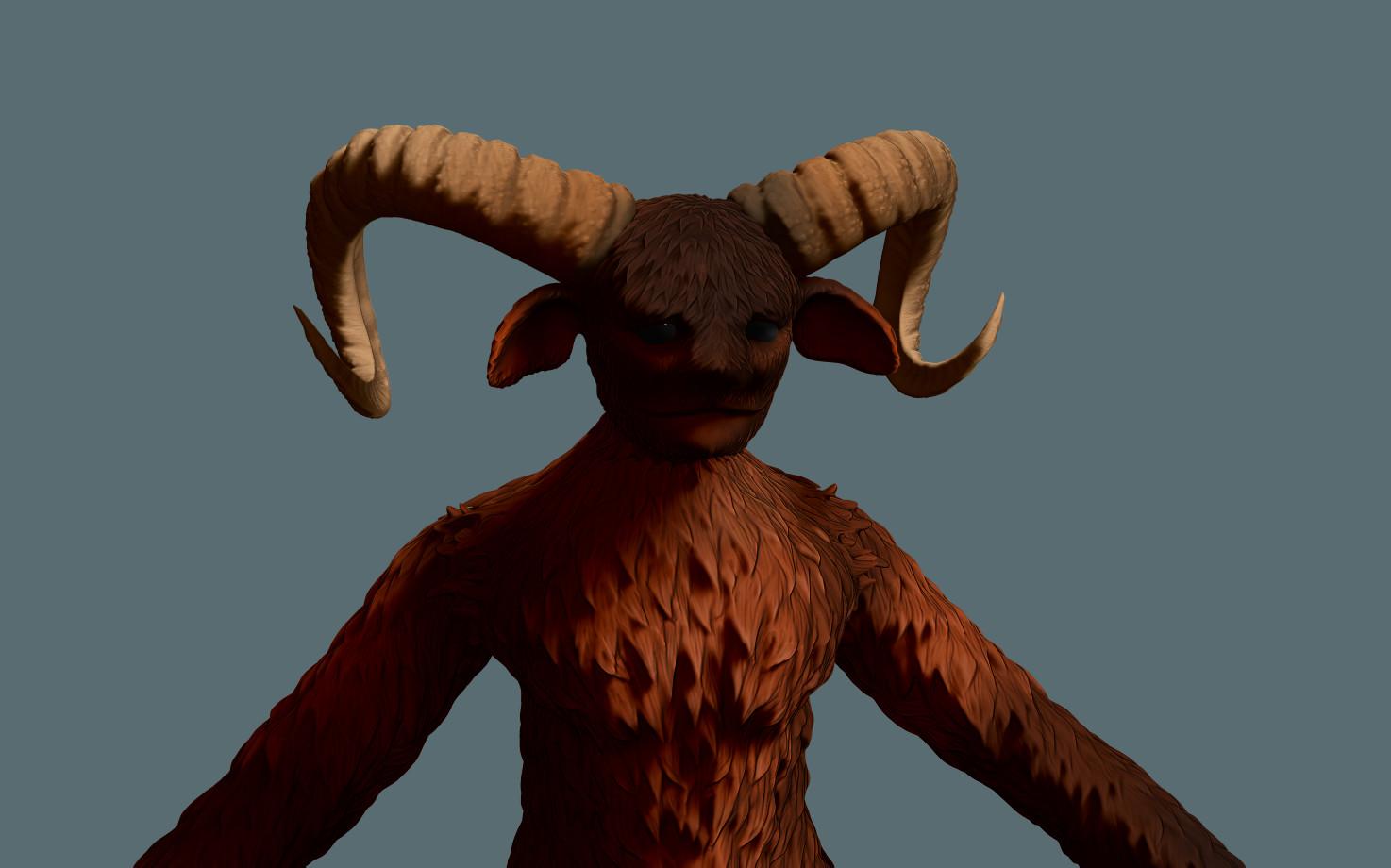 Mateusz wendowski render closeup